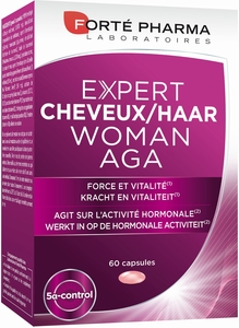 Expert Cheveux Woman AGA 60 Capsules