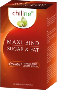 Chiline Maxi Bind Sugar & Fat 90 Comprimés
