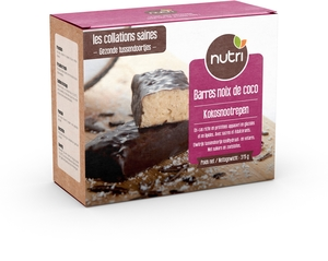 Nutripharm Barres Noix Coco 7x45g