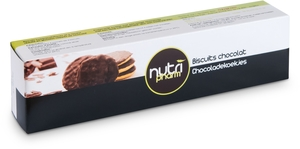 Nutripharm Biscuits Chocolat 4 x 4 Biscuits