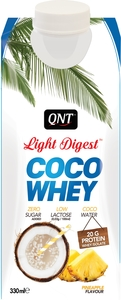 Qnt Light Digest Coco Whey Ananas 330ml