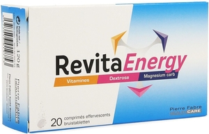 RevitaEnergy 2x10 Comprimés Effervescents
