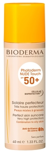 Bioderma Photoderm Nude Touch IP50+ Teinte Claire 40ml