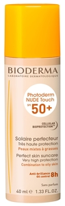 Bioderma Photoderm Nude Touch IP50+ Teinte Dorée 40ml
