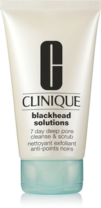 Clinique Blackhead Solutions Nettoyant Exfoliant Anti-Points Noirs Tube 125ml