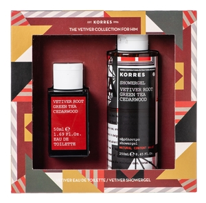 Korres The Vetiver Collection for Him