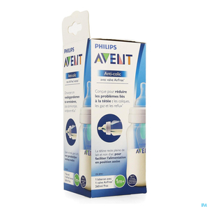 Avent Zuigfles Anti-Colic Met AirFree Ventiel 260ml