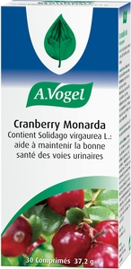 A. Vogel Cranberry Monarda 30 Tabletten