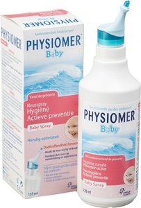 Physiomer Baby Neusspray Hygiene Actieve Preventie 135ml