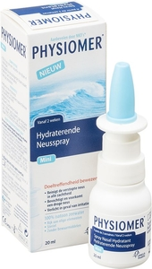 Physiomer Mini Hydraterende Neusspray 20ml