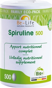 Be-Life Spiruline 500 Bio 500 Tabletten