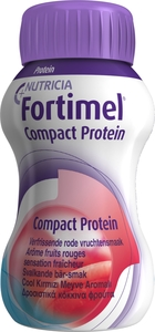 Fortimel Compact Protein Fris Rode Vrucht. 4x125ml