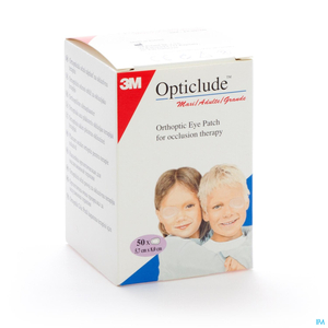 Opticlude 3m Oogkompres Stand82mmx57mm 50 1539